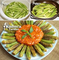 Okra Fries Recipe with Tomato Sauce - REzepteInfinity