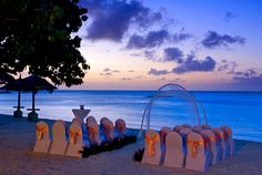 I don't like the decor, but the night blue sky is lovely! I think i'll want my wedding in the evening (: