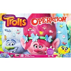 DreamWorks Trolls Edition Operation Game