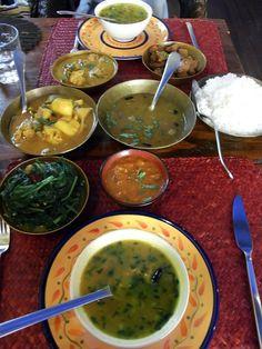 -indian food dinner-