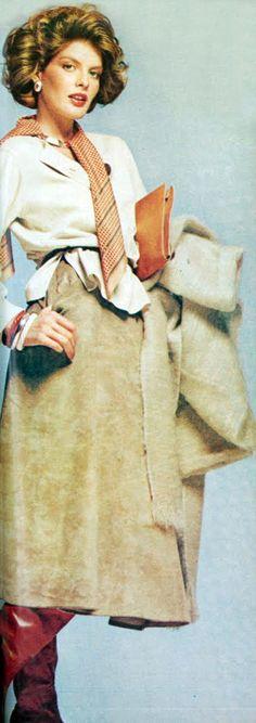 Renee Russo by Scavullo Vogue 1974