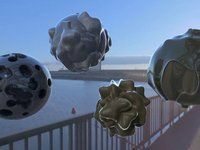 strange objects from outer space 3d Animation, Outer Space, Chill, Objects, Image, Art, Art Background, Universe, Kunst