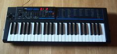 Korg Poly 800ii.  My first synthesizer ever--I cried like a little girl when it was given to me for Christmas many years ago.