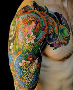 10 Colorful Tattoo Designs for You to Rock - Pretty Designs
