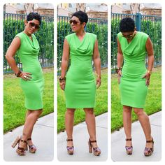 mimi g.: OOTD: DIY Vogue 1250 Dress + Jessica Simpson Heels