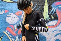 Canary Hill Onyx cycle shirt for women Funky Design, Arm Warmers, Cycling, Tights, Bomber Jacket, Short Sleeves, Glamour, Deep, Womens Fashion