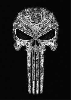 kuru kafa Skull - Sister and Brother Punisher Tattoo, Punisher Logo, Punisher Marvel, Skull Wallpaper, Marvel Wallpaper, Marvel Tattoos, Totenkopf Tattoos, Marvel Art, Skull Art