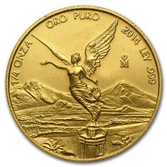 2014 1/4 oz Gold Mexican Libertad Coin - Brilliant Uncirculated - SKU #89023. Deal Price: $369.10. List Price: $402.56. Visit http://dealtodeals.com/oz-gold-mexican-libertad-coin-brilliant-uncirculated-sku/d21293/coins-paper-money/c195/