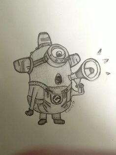 Minion tekenen