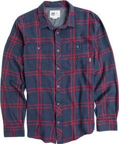 REEF COLD DIP 5 LS FLANNEL
