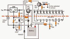 3v, 4.5v, 6v, 9v, 12v, 24v, Automatic Battery Charger