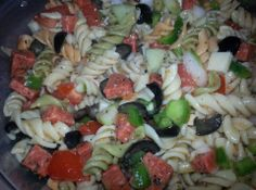 Yum... Id Pinch That! | Colorful Party Pasta Salad