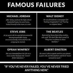 Everyone says failures are pillars of success,although at that instance does these words work.......
