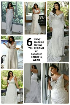6 Plus Size wedding gowns you dreamt of but never dared to wear. STUDIO LEVANA