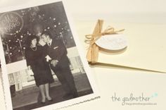 Bodas de oro - invitación bodas de oro