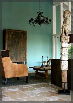 Een prachtige natuurstenen vloer van Travertin verwerkt in een romaans verband door ons geleverd aan een klant wonend op Curaçao. In combinatie met de meubelen geeft dit een prachtige resultaat!