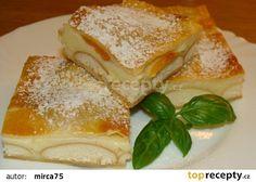 Listová buchta recept - TopRecepty.cz Camembert Cheese, French Toast, Goodies, Treats, Breakfast, Sweet, Food, 35, Candy