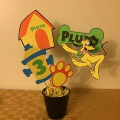 Pluto Centerpiece. Made by me