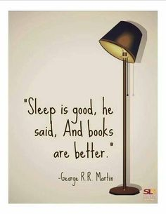 Sleep vs. Books