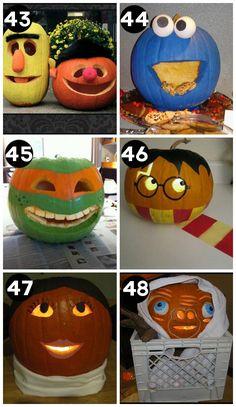 Cute pumpkins--150 ideas