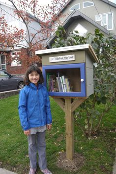 Sarita Williams. Toronto, Ontario, Canada. I LOVE books. For my 10th birthday, my Mom and Dad decided to make me the Steward of my very own Little Free Library. My Mom made the arrangements and Dad secretly made it for me. What a great surprise!! I cut the ribbon with my book loving friends at my birthday party. I LOVE it!