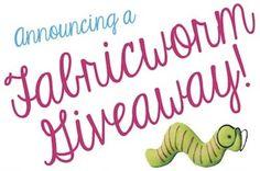 Announcing a Fabricworm Giveaway!  Lecien's Color Basics Polka Dots!
