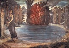 The Sirens (study) Sir Edward Burne-Jones - 1875