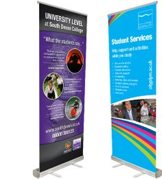 Matrix exhibition stands & pop-up banner design Plymouth