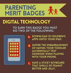 Digital Technology   Merit Badges Every Parent Deserves