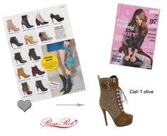 RosaRot style, Ciel-1 olive, feat. in the new issue of JOLIE Magazine (Germany) <3