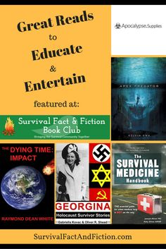 Great reads at Survival Fact and Fiction Book Club!