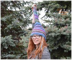 Elf Hats by Bat's Woodland Wares https://www.etsy.com/listing/260354829/elf-hat-flying-seahorse