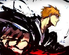 Bleach Fanart, Bleach Manga, Bleach Characters, Anime Characters, Ichigo Y Orihime, Black Clover Manga, Naruto Drawings, Character Wallpaper, Comic Art