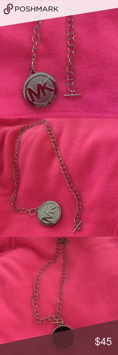 Michael Kors necklace! Michael kors necklace black back and hook chain KORS Michael Kors Jewelry Necklaces