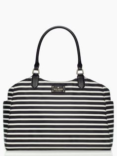 I know this is a 'baby bag' but it would make a great tote bag for the commuter.  Kate Spade -grove court nylon sasha baby bag