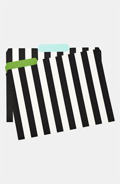 kate spade new york 'whistle while you work' file folders