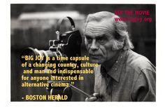 Boston Herald quote for Big Joy the film