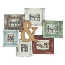 Colorful Wooden Styled Wall Photo Frame