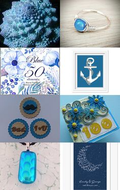 FRU HEART ATTACK!        THE BEAUTIFUL BLUES! by Sherry Belbot on Etsy--Pinned with TreasuryPin.com