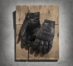 Men's Magnum Full-Finger Leather Gloves