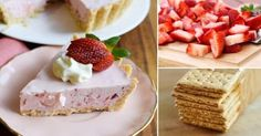 Prepara este cremoso y refrescante pastel en solo cinco pasos. New Recipes, Sweet Recipes, Cooking Recipes, Healthy Recipes, Delicious Desserts, Yummy Food, Soul Food, Food Hacks, Deserts