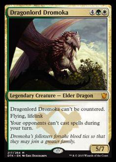 Dragonlord-Dromoka-x1-Magic-the-Gathering-1x-Dragons-of-Tarkir-mtg-card-NM