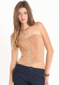 corset remix in camel