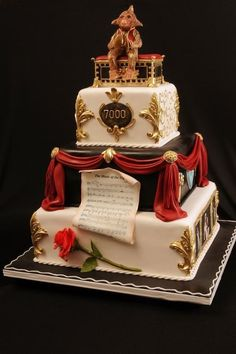 The Phantom of the Opera is here…and so is the cake!