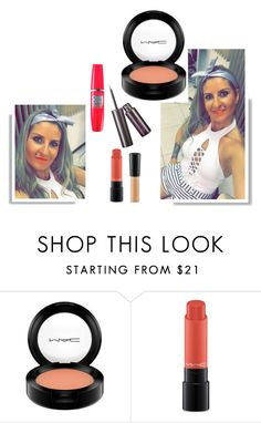 """Aula"" by patri-fachini ❤ liked on Polyvore featuring beauty and MAC Cosmetics"