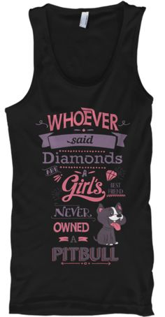 Awesome Shirt For Girlie Pitbull Lovers! #dogs #rescuedogsrock