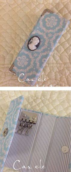 Like this idea for making key ring purse. :) Can use fabric scraps for this project. Save Our Earth, Key Pouch, Fabric Scraps, Recycling, Craft Ideas, Purses, Wallet, Ring, Cartonnage