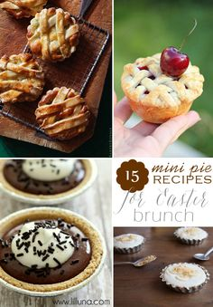 15 Mini Pie Recipes Perfect For Easter Brunch