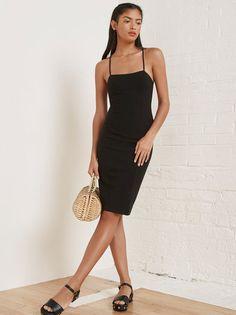 The Cobb Dress  https://www.thereformation.com/products/cobb-dress-black?utm_source=pinterest&utm_medium=organic&utm_campaign=PinterestOwnedPins