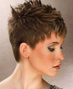 Spiky Pixie Hairstyles